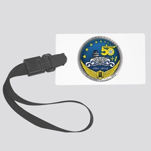 CVN 65 Inactivation! Large Luggage Tag