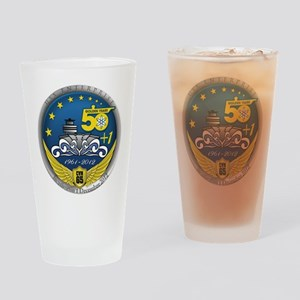CVN 65 Inactivation! Drinking Glass