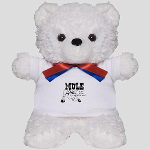 ANGRY MULE Teddy Bear