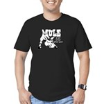 ANGRY MULE DAR, Men's Fitted T-Shirt (dark)