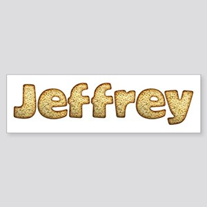 Jeffrey Toasted Bumper Sticker