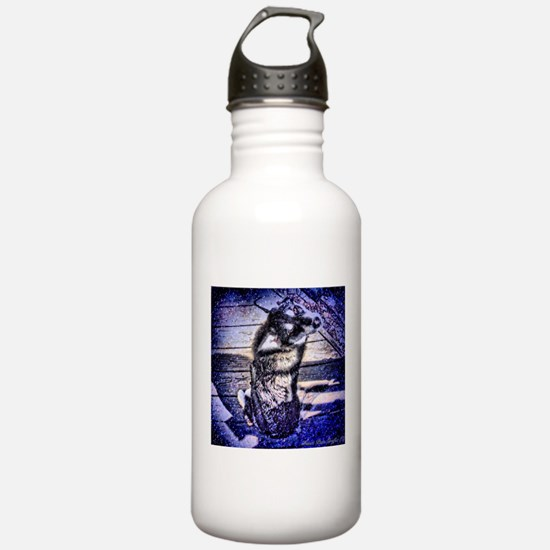 Blue Snowdog Sports Water Bottle