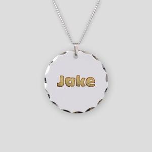 Jake Toasted Necklace Circle Charm