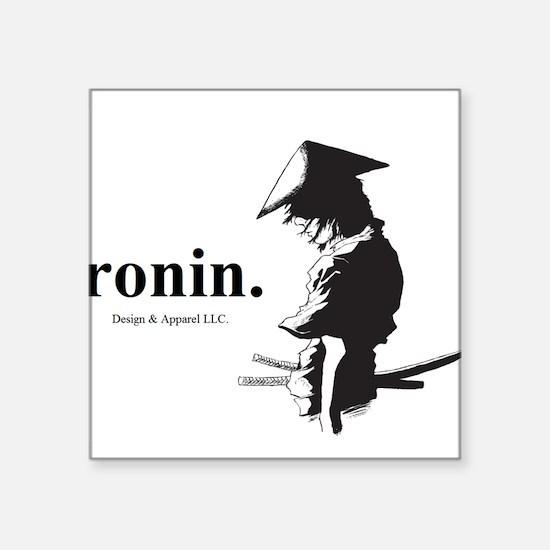 "Ronin Square Sticker 3"" x 3"""