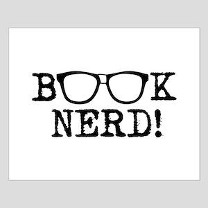 Book Nerd Small Poster