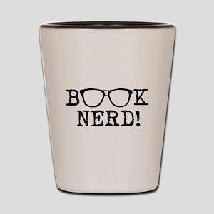 Book Nerd Shot Glass