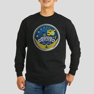 CVN 65 Inactivation! Long Sleeve Dark T-Shirt