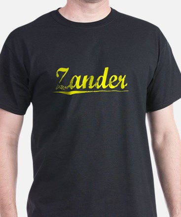 Zander, Yellow T-Shirt