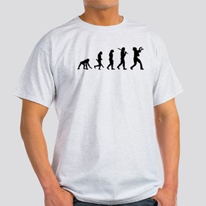 Evolution of Zombie Light T-Shirt
