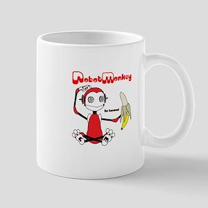 Robot Monkey Mug