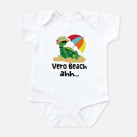 Vero Beach Turtle Infant Bodysuit