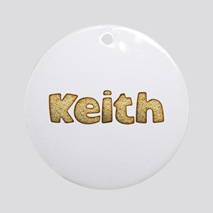 Keith Toasted Round Ornament