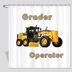 The Grader Shower Curtain