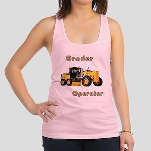 The Grader Racerback Tank Top