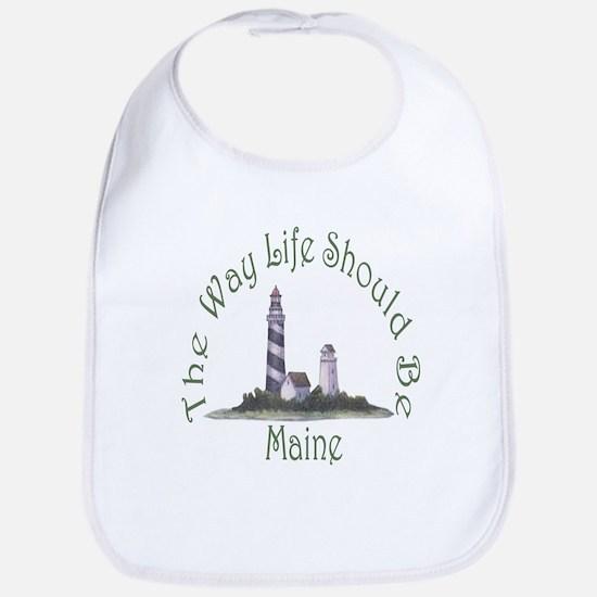 Maine State Motto Bib