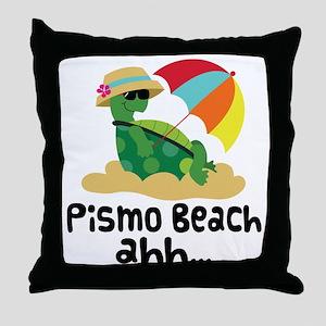 Pismo Beach (Turtle) Throw Pillow