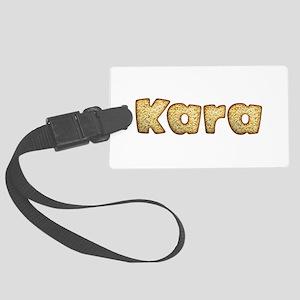 Kara Toasted Large Luggage Tag