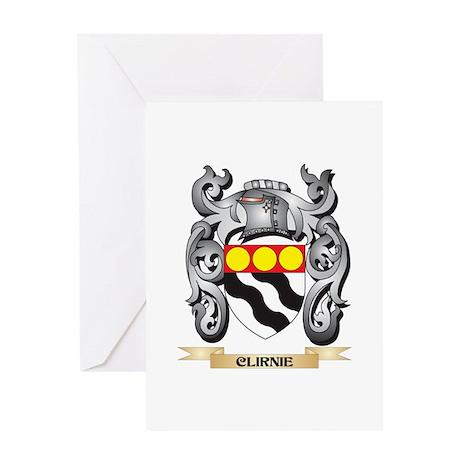 Clirnie Family Crest - Clirnie Coat Greeting Cards