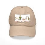 Dances w/ Woofs (male) White or Tan Cap