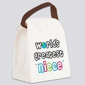 WorldsGreatestNiece Canvas Lunch Bag