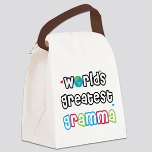 WorldsGreatestGramma Canvas Lunch Bag