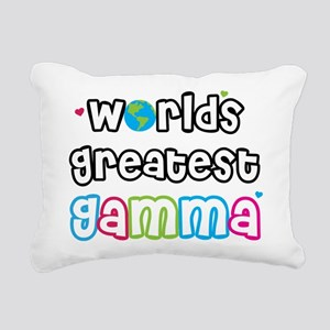 World's Greatest Gamma! Rectangular Canvas Pillow