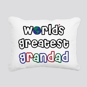 WorldsGreatestGrandad Rectangular Canvas Pillo