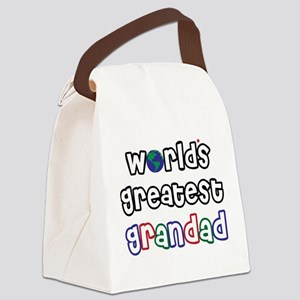 WorldsGreatestGrandad Canvas Lunch Bag