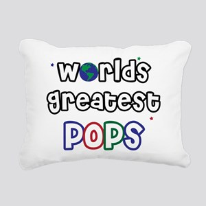 WorldsGreatestPops Rectangular Canvas Pillow
