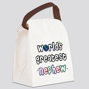 WorldsGreatestNephew Canvas Lunch Bag