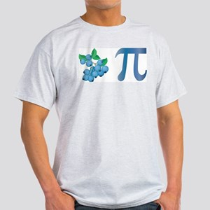 Blueberry Pi Ash Grey T-Shirt