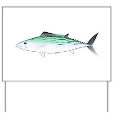 Bonito tuna fish Yard Sign