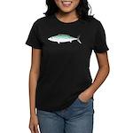 Bonito tuna fish Women's Dark T-Shirt