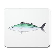 Bonito tuna fish Mousepad