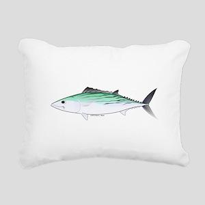 Bonito tuna fish Rectangular Canvas Pillow
