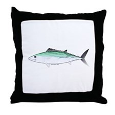 Bonito tuna fish Throw Pillow