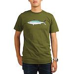 Bonito tuna fish Organic Men's T-Shirt (dark)