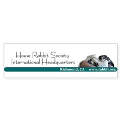HRS International Headquaters Bumper Bumper Sticker