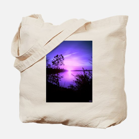Purple Set Tote Bag