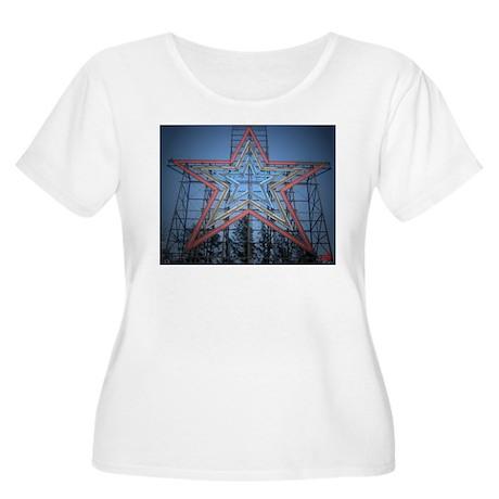 the Noke Women's Plus Size Scoop Neck T-Shirt