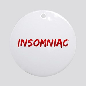Insomniac Ornament (Round)