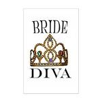 Bride DIVA Mini Poster Print