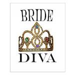 Bride DIVA Small Poster