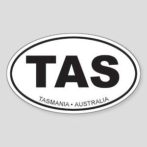 Tasmania, Australia Oval Sticker