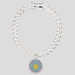 Multilingual Christmas Charm Bracelet, One Charm