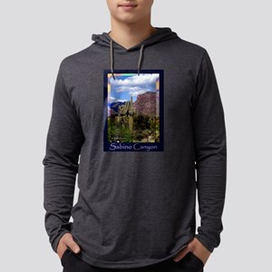 Sabino Canyon Mens Hooded Shirt
