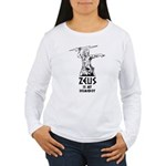 Zeus is my homeboy Women's Long Sleeve T-Shirt