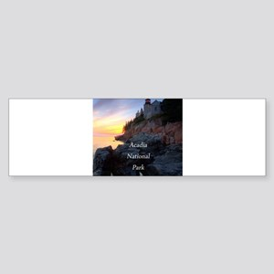 Acadia National Park Sticker (Bumper)