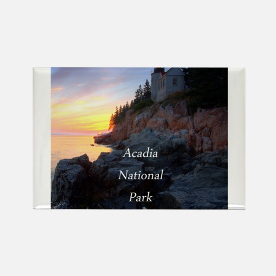 Acadia National Park Rectangle Magnet (10 pack)