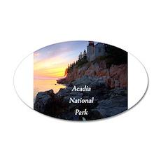 Acadia National Park Wall Decal